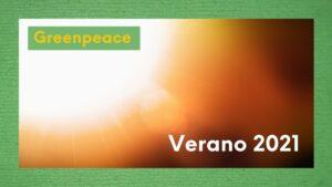 Imagen sol verano 2021 emergencia climática