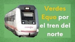 Imagen tren regional y tren del norte